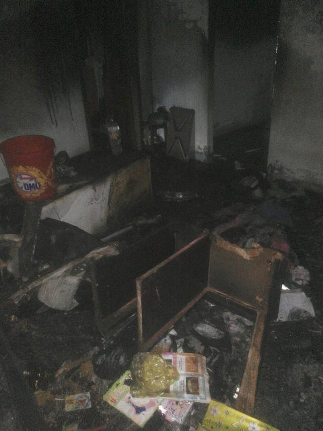 Nha Trang: Xe đạp điện chập nổ, cháy toàn bộ căn nhà - Ảnh 3.
