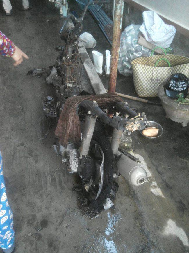 Nha Trang: Xe đạp điện chập nổ, cháy toàn bộ căn nhà - Ảnh 4.