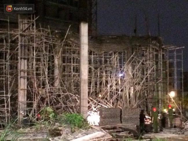 Nguyên nhân ban đầu vụ sập giàn giáo khiến 6 người bị thương ở Đà Nẵng - ảnh 1