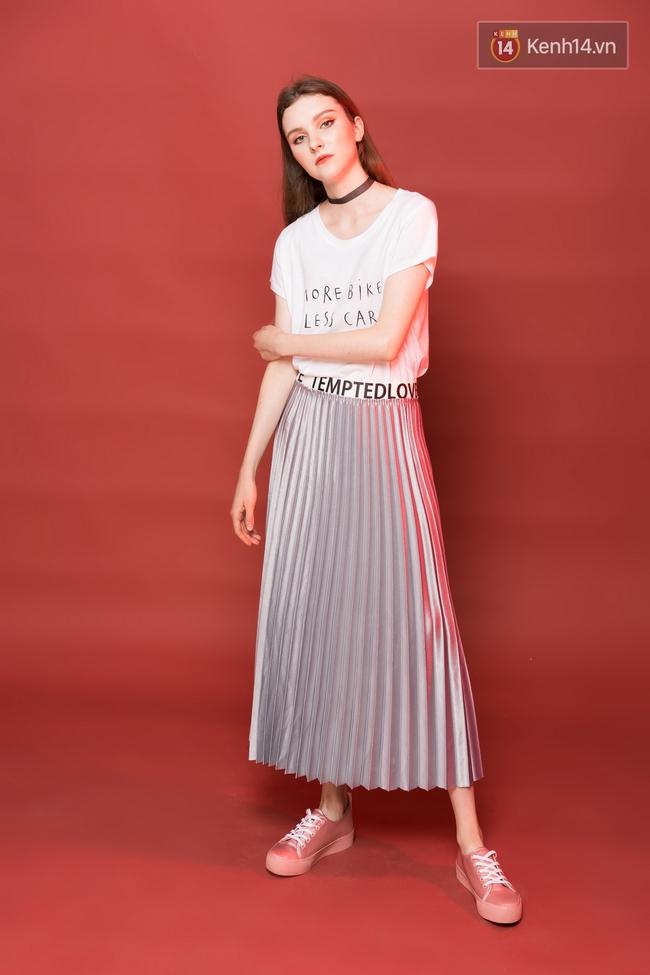 5 công thức mix áo phông trắng đẹp mê bạn phải diện ngay hè này - Ảnh 1.