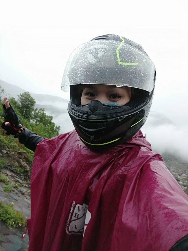 Cô gái phượt Sài Gòn - Hà Nội 40 tiếng bằng xe máy: Đã ngủ nghỉ một đêm và vận tốc trung bình 80km/h - Ảnh 3.