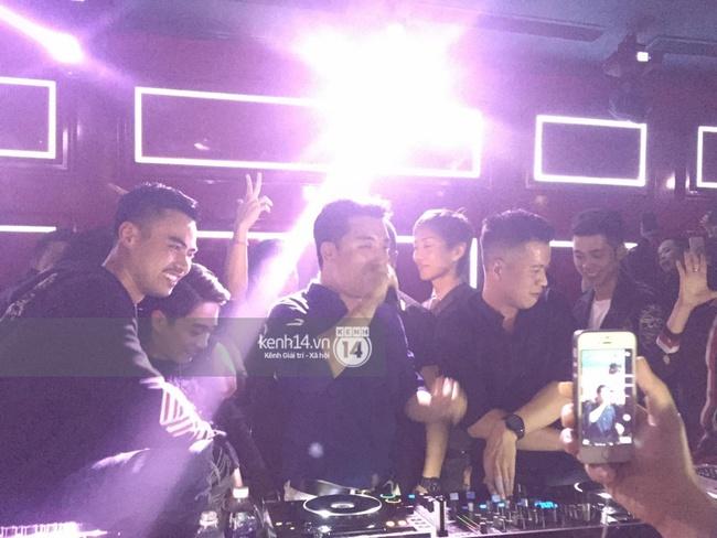 VJ kiêm DJ Seungri quẩy hết mình cùng dàn sao Việt tại bar - Ảnh 6.