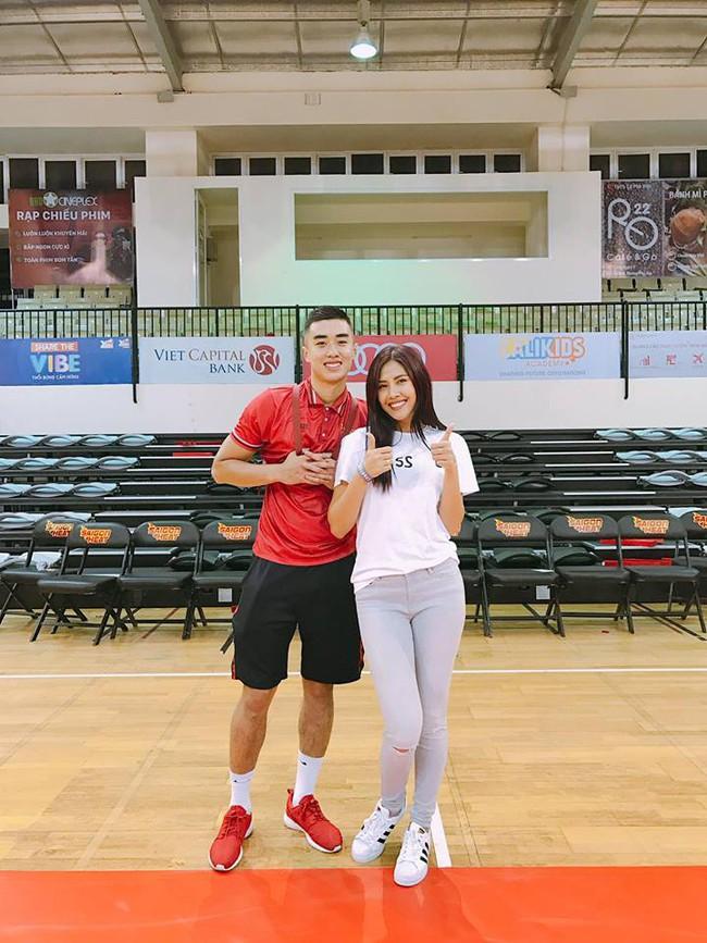 Nguyễn Thị Loan hẹn hò ngôi sao của bóng rổ Việt Nam  - Ảnh 2.