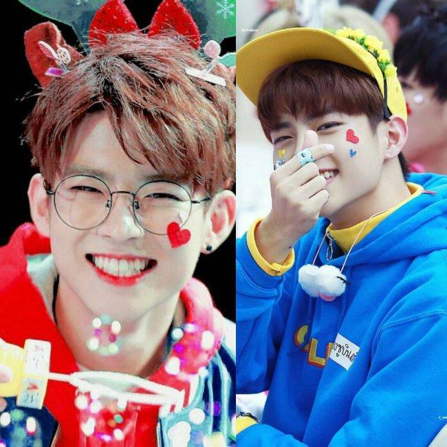 Các idol xứ Hàn tích cực sống ảo với kiểu makeup dính hoa khô, sticker lên mặt vừa xinh vừa nghệ - Ảnh 15.