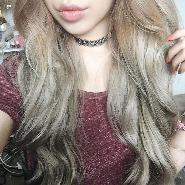 Changmakeup tạm biệt tóc bạch kim, chuyển sang màu nhuộm Bạch Cốt Tinh siêu nổi - Ảnh 15.