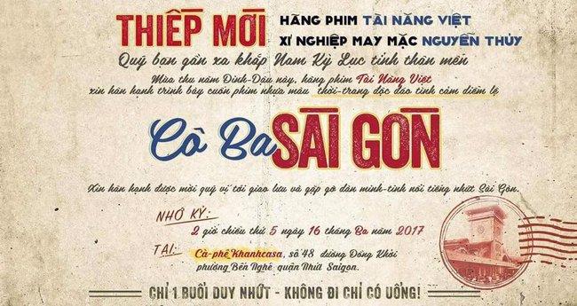 Nhá hàng poster rặt chất Sài Gòn, phim mới của Ngô Thanh Vân chưa quay đã hot - Ảnh 2.