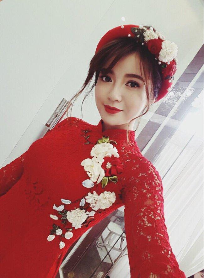 Hot girl Tú Linh M.U xinh đẹp rạng rỡ trong lễ ăn hỏi - ảnh 2