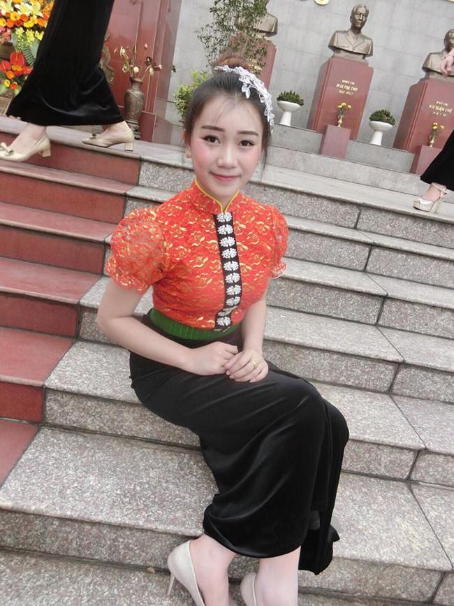 Nữ sinh Lào 19 tuổi cực xinh và nổi bật trong cuộc thi Hoa khôi Đại học Tây Bắc - Ảnh 4.