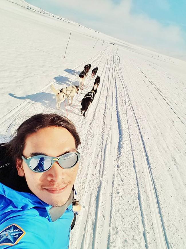 Chàng trai từng kêu gọi cộng đồng mạng vote cho mình đã hoàn thành thử thách chinh phục Bắc Cực! - Ảnh 2.