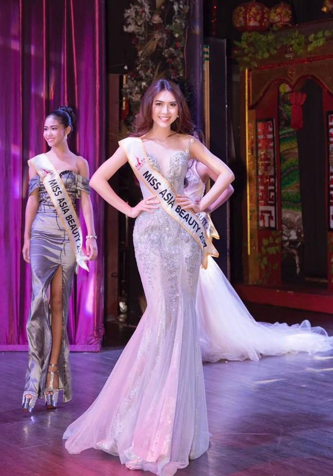Cử nhân Học viện Hàng không Việt Nam đăng quang người đẹp châu Á - Ảnh 4.