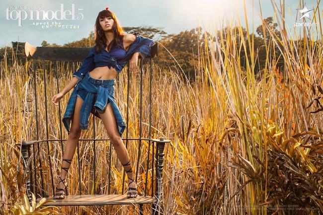 Lại ngất xỉu, nhưng Minh Tú vươn lên hẳn thứ 2 Asias Next Top Model! - Ảnh 12.