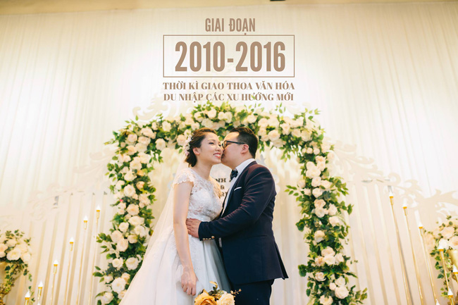 Độc nhất vô nhị: Chụp một lần, cặp đôi tái hiện được tất cả các kiểu lễ cưới Việt Nam trong 100 năm qua! - Ảnh 18.