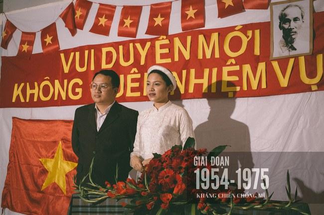 Độc nhất vô nhị: Chụp một lần, cặp đôi tái hiện được tất cả các kiểu lễ cưới Việt Nam trong 100 năm qua! - Ảnh 6.