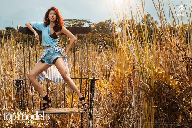 Lại ngất xỉu, nhưng Minh Tú vươn lên hẳn thứ 2 Asias Next Top Model! - Ảnh 6.