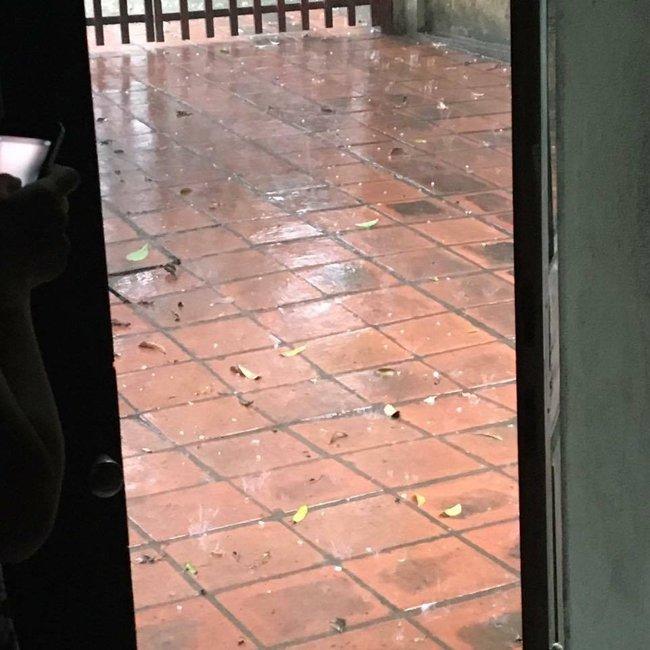Xuất hiện mưa đá lớn ở Hòa Bình - Ảnh 3.