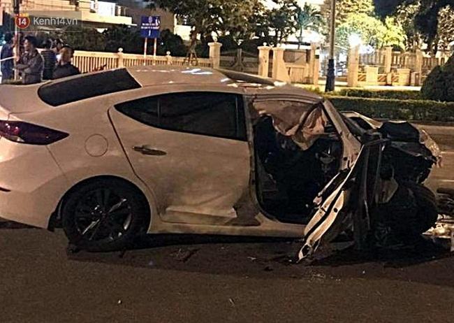 Lái ô tô đâm trúng bùng binh, nam thanh niên tử vong thương tâm đúng ngày sinh nhật - Ảnh 1.