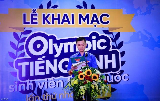 Hội thi Olympic Tiếng Anh sinh viên toàn quốc lần thứ I chính thức được khai mạc - Ảnh 3.