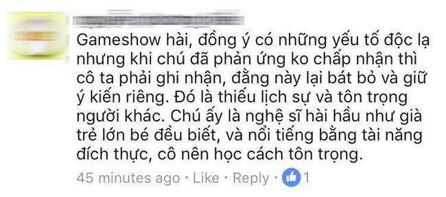 Khán giả phản ứng gay gắt khi Hương Giang Idol xúc phạm nghệ sĩ Trung Dân - Ảnh 3.