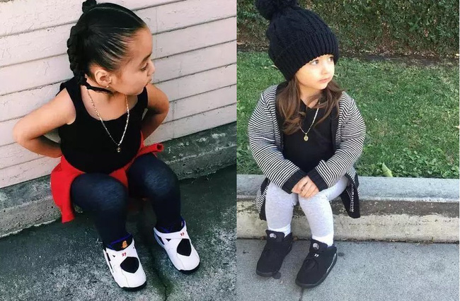 Mới 4 tuổi, cô nhóc này đã sở hữu hàng chục đôi sneakers đình đám khiến người lớn phải kiêng dè - Ảnh 19.