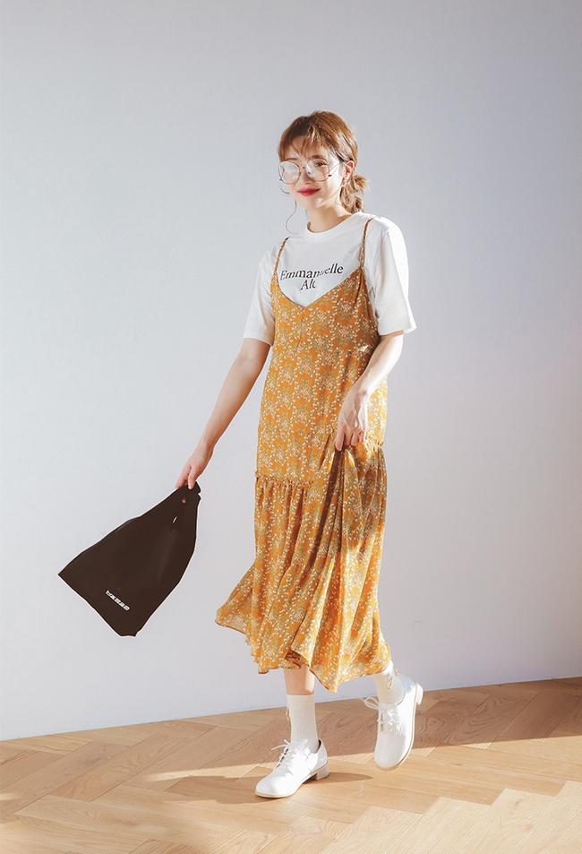5 công thức mix váy hoa xinh đáo để nàng nào cũng nên thuộc nằm lòng - Ảnh 2.