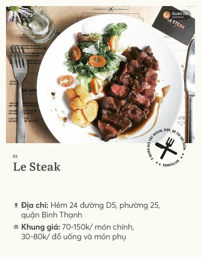 Sài Gòn: Ngày cuối kỳ nghỉ lễ, tụ tập đi ăn steak ngon - rẻ ở 3 quán xinh xắn này nhé - Ảnh 3.