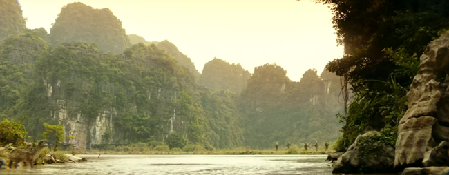 Cảnh sắc tuyệt đẹp của Việt Nam tiếp tục được khai thác trong clip mới của Kong: Skull Island - Ảnh 3.