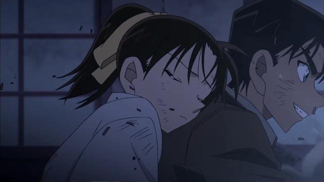 Phần phim mới của Conan úp mở tình đầu giữa Kazuha và anh da đen Hattori? - Ảnh 4.