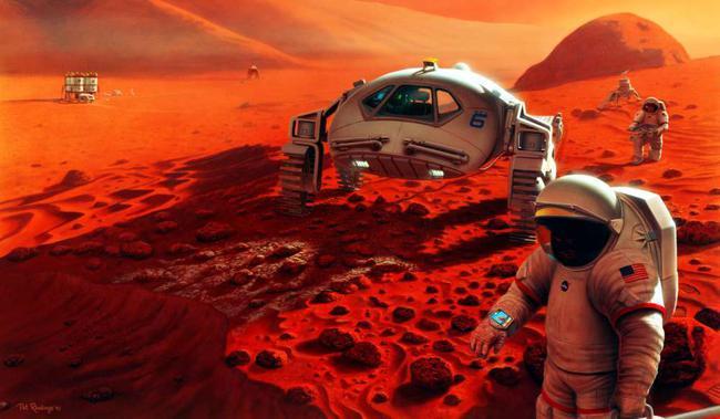 Mảnh ghép còn thiếu khi chinh phục sao Hỏa chính là thứ bột trắng này - Ảnh 3.