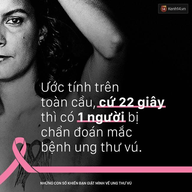 Ung thư vú - những con số khiến bạn giật mình - Ảnh 2.