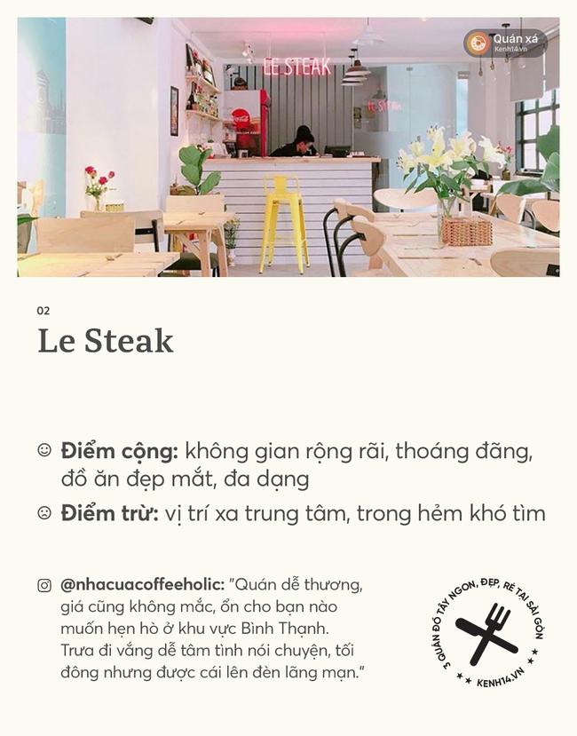 Sài Gòn: Ngày cuối kỳ nghỉ lễ, tụ tập đi ăn steak ngon - rẻ ở 3 quán xinh xắn này nhé - Ảnh 4.