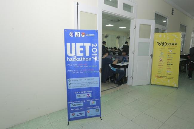 Khai mạc UET Hackathon 2017 - Nơi các anh tài công nghệ được hội tụ và thỏa sức sáng tạo - Ảnh 2.