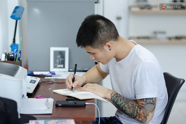 Chunhack - Chàng thợ xăm đẹp trai đang khiến giới trẻ Sài Gòn điên đảo với những hình xăm nhỏ cực chất - Ảnh 11.
