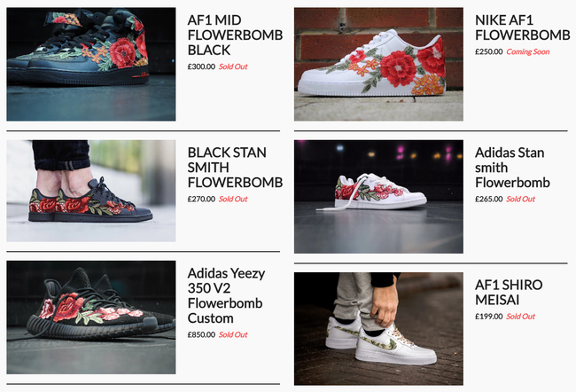 Giày sneaker thêu, xu hướng hoa hòe hoa sói mà bạn cứ lướt Instagram là gặp thời gian này - Ảnh 20.