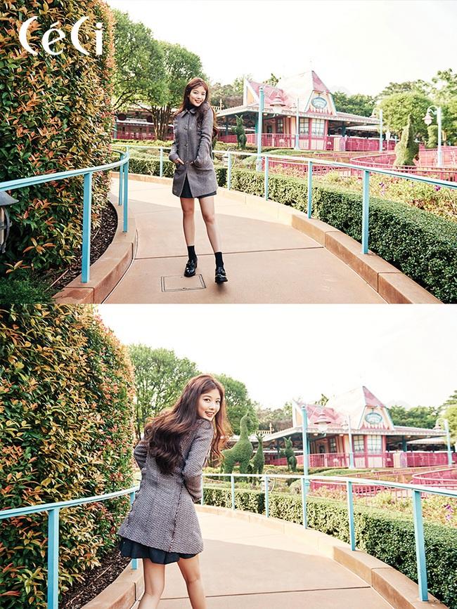 Suzy xinh đẹp nhưng style nhạt hơn hẳn các sao nữ khác trên tạp chí tháng 1 - Ảnh 11.