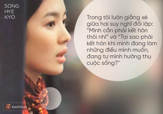 Song Hye Kyo và phụ nữ thời nay: Tự lực tài chính, chủ động ước mơ và đừng ngược đãi bản thân - Ảnh 8.
