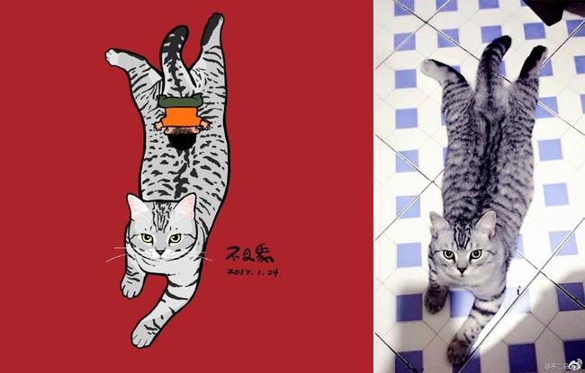 Nếu yêu mèo, bạn sẽ muốn phát điên trước chùm tranh siêu cấp dễ thương này - Ảnh 3.