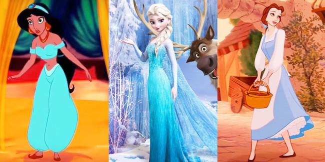 Nếu muốn trở thành nàng công chúa Disney, hãy mua cho mình một bộ váy màu xanh! - Ảnh 2.