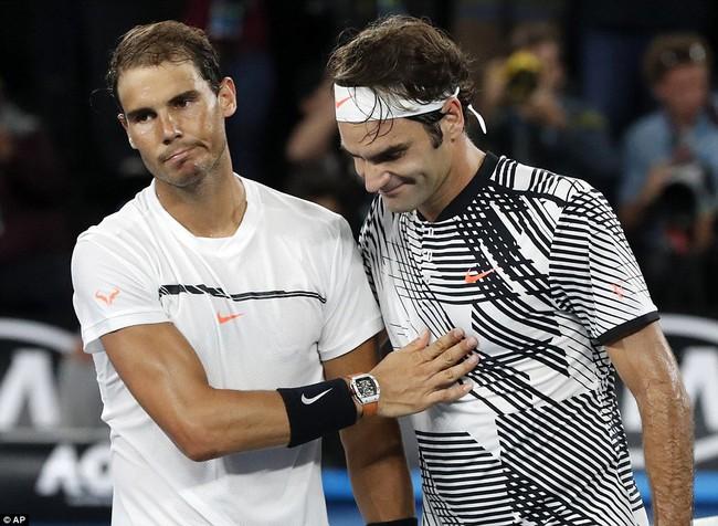 Federer bật khóc khi đánh bại Nadal, bước lên thiên đường thứ 18 - Ảnh 4.