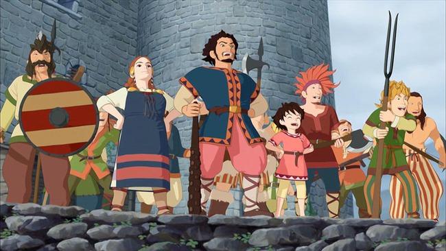 Ghibli Studio tiếp tục đề cao tiếng nói của trẻ em bằng series Ronja - Ảnh 5.