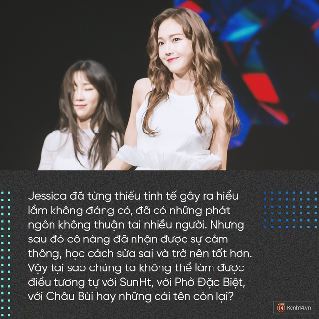 Fan Jessica chân chính, họ cũng chẳng dùng cách miệt thị, chửi bới Sun hay Phở để bảo vệ thần tượng mình đâu! - Ảnh 6.