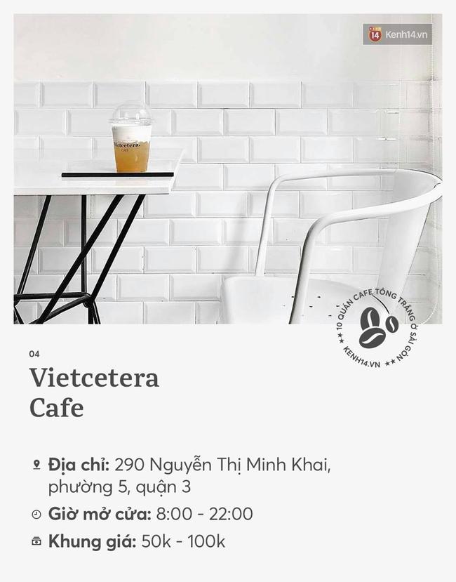 10 quán cà phê tông trắng ở Sài Gòn, cứ đến là có ảnh đẹp! - Ảnh 7.