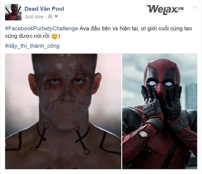 Đến Phan Hải, Deadpool,... cũng phải cảm ơn trời vì đã dậy thì thành công! - Ảnh 7.