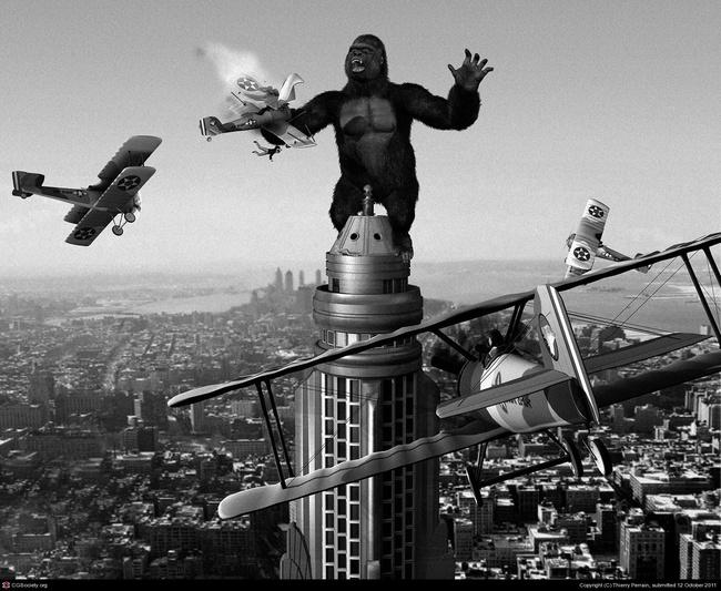 Kong - Vị vua quyền lực của nền điện ảnh Hoa Kỳ - Ảnh 2.