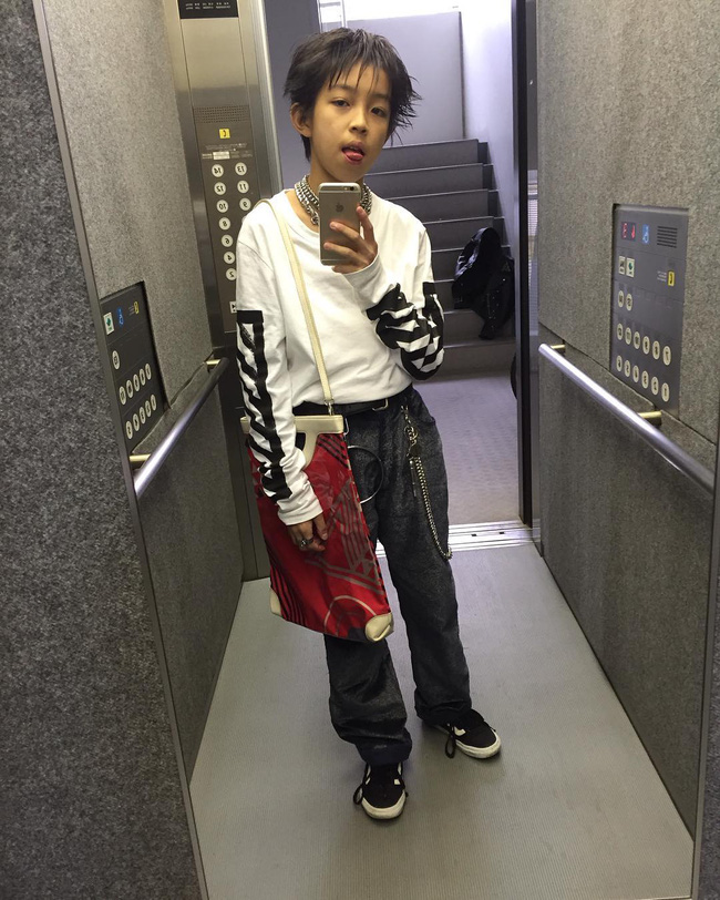 Kim Kardashian ư? Cậu nhóc 13 tuổi có style cực chất này mới là thánh selfie - Ảnh 8.
