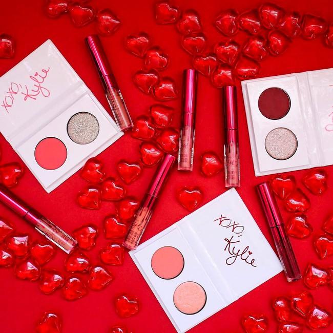 Có tín đồ làm đẹp nào lại không chảy nước miếng trước BST Valentine quá hoành tráng của Kylie Cosmetics cho được! - Ảnh 16.
