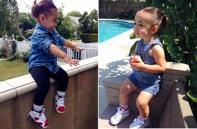 Mới 4 tuổi, cô nhóc này đã sở hữu hàng chục đôi sneakers đình đám khiến người lớn phải kiêng dè - Ảnh 4.