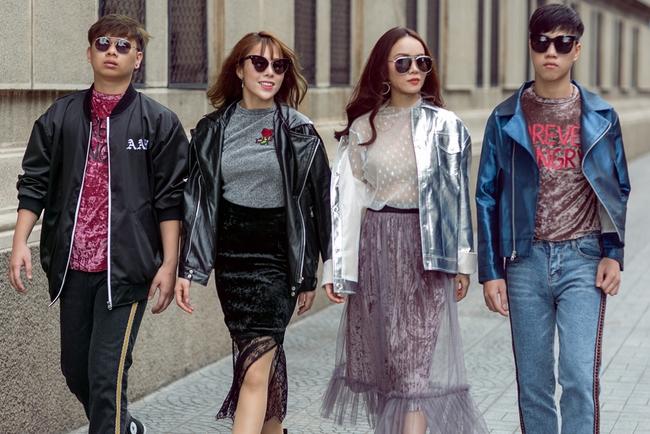 Team Yến Trang tung bộ ảnh streetstyle cực chất trước đêm thi The Remix - Ảnh 7.