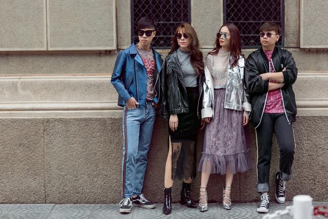 Team Yến Trang tung bộ ảnh streetstyle cực chất trước đêm thi The Remix - Ảnh 10.