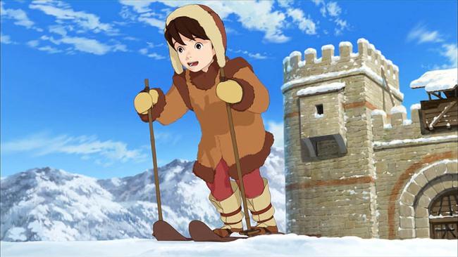Ghibli Studio tiếp tục đề cao tiếng nói của trẻ em bằng series Ronja - Ảnh 7.