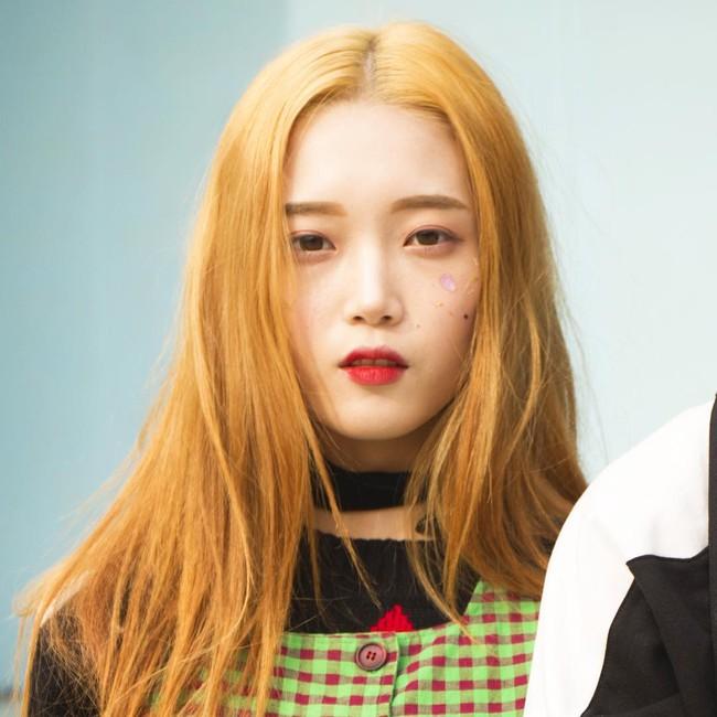 Các idol xứ Hàn tích cực sống ảo với kiểu makeup dính hoa khô, sticker lên mặt vừa xinh vừa nghệ - Ảnh 6.
